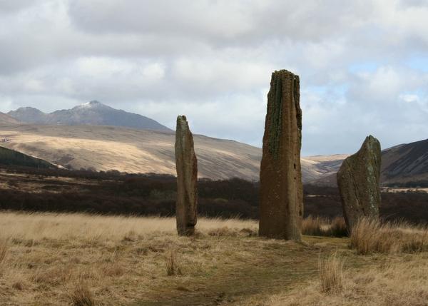 Standing Stones, Machrie Moor, Isle of Arran.