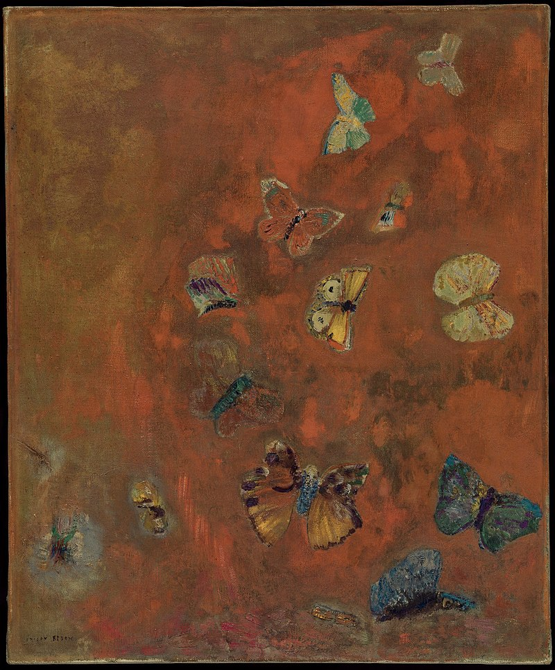 Redon Evocation of Butterflies