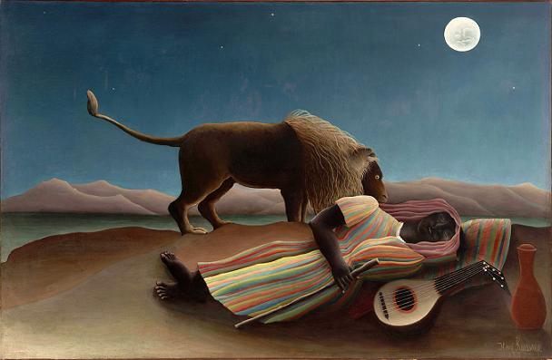 http://www.lifeasmyth.com/rousseau_sleepinggypsy.jpg